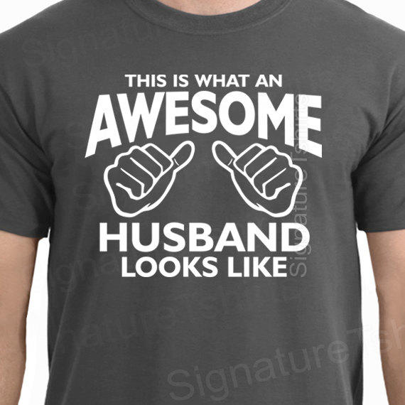 Wedding Gift for Him / New Husband Gifts from Signaturetshirts