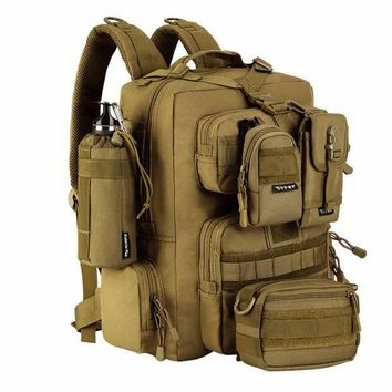 ICIKUH3 Military Tactical Assault Pack Backpack Army Molle Waterproof Bug Out Bag Backpacks Small Rucksack for Outdoor Hiking Camping