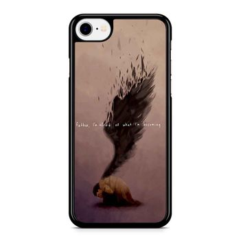 Supernatural Castiel Quote iPhone 8 Case