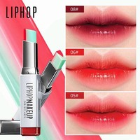 DCCKOV5 LIPHOP Korean Brand Lip Gloss Gradient  Lipstick (8 colors)