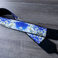 Daisies Camera Strap. Flowers Camera Strap. Birthday Gift.  Dslr Camera Strap.  Photo Accessories. Handmade Strap