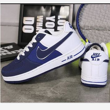 NIKE Running Sport Casual Shoes Women Men Sneakers Low tops shoes Blue
