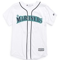 Boy's Majestic MLB 'Seattle Mariners - Felix Hernandez' Cool Base Replica MLB Jersey,