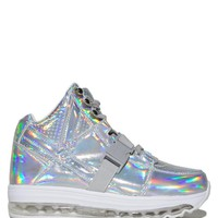 QOZMO AIIRE - LIGHT UP HOLOGRAM High Top Holographic Shoes