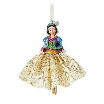 Disney Store 2017 Princess Snow White Sketchbook Ornament New