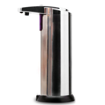 Automatic Stainless Steel Hands Free IR Sensor Soap Dispenser w Stand Best GIFT
