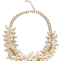 Tia Chunky Pearl Necklace