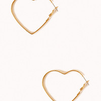 Heart-Shaped Hoops
