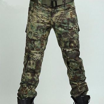 Multicam Airsoft Military Camouflage pants blind clothing tactical cargo pants army combat pants camouflage fatigues