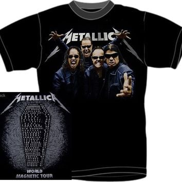 Metallica T-Shirt - World Magnetic Tour Shades