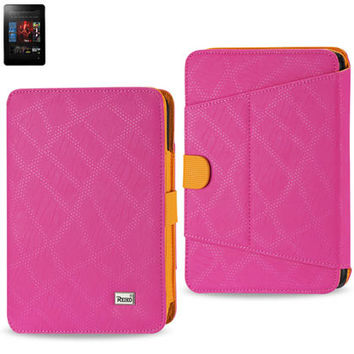 Magnetic closure CASE Amazon Kindle Fire HD 7 inch HOT PINK