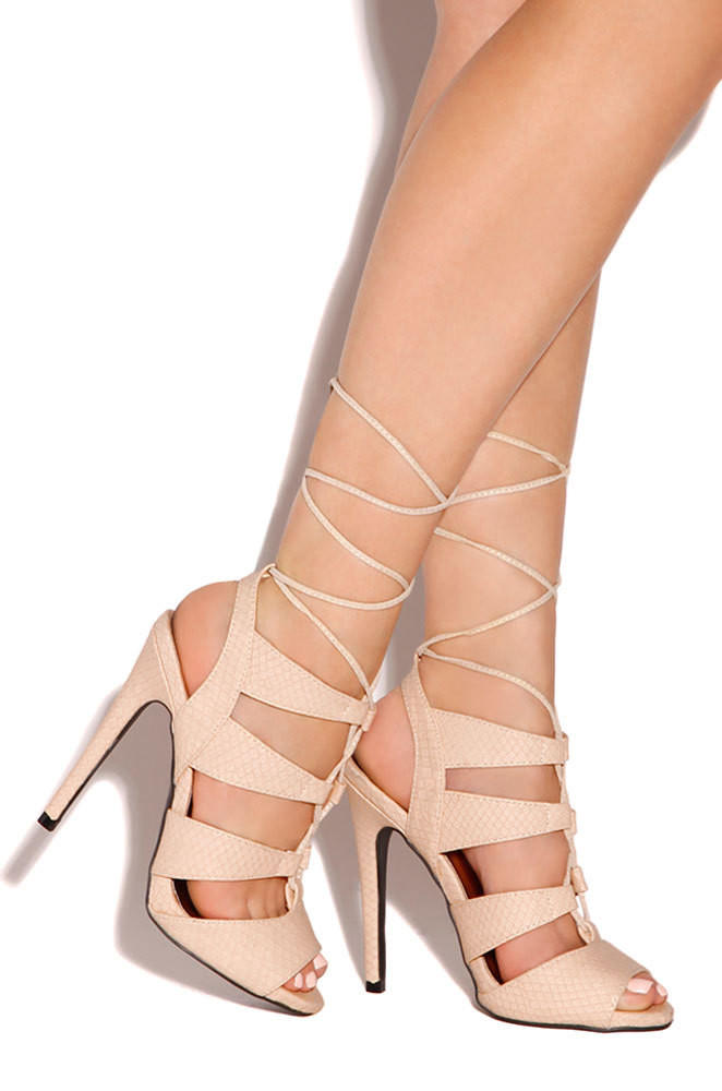 Allure High Heels Sandals from Colors of Aurora