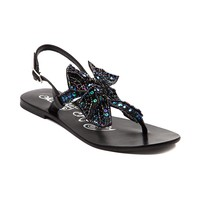Womens Naughty Monkey Sweet Cakes Sandal in Black | Shi by Journeys