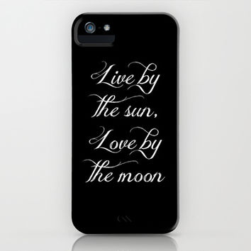 Live By the Sun, Love By the Moon iPhone & iPod Case by Crystalline Mermaid | Society6