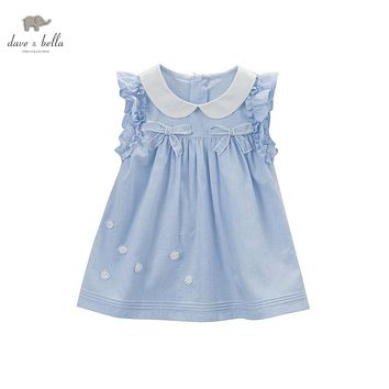 DB5057 davebella summer girls fancy dress princess baby girls boutique clothes girls cute dress