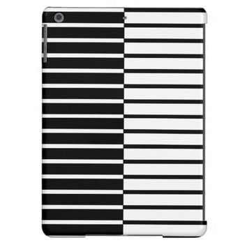 Zebra Plays Piano B- iPad Air Case