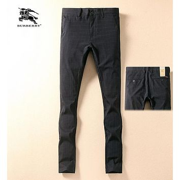 Boys & Men Burberry Fashion Office Pants Trousers