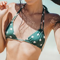 ACACIA Swimwear 2019 Cannons Top in Dotty (Last one)