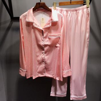 Victoria's Secret Women Robe Sleepwear Loungewear Set Two-Piece