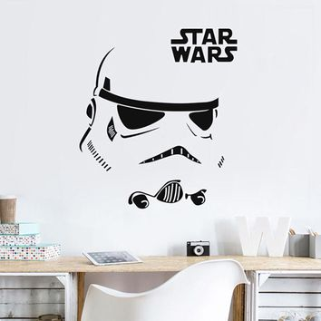 Star Wars Force Episode 1 2 3 4 5 Wall Sticker Quotes Inspire Stormtrooper  Vinyl Decal Art Home Decor Bedroom Wall Decors Quote For Office Mural LA015 AT_72_6