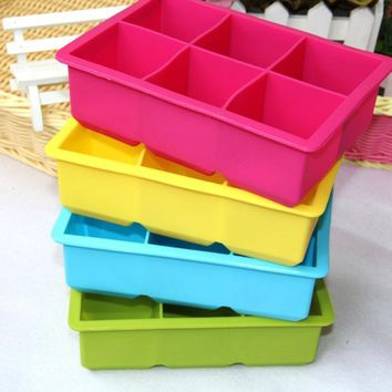 Jelly Pudding Soap Ice Cream Cube Tray Makers