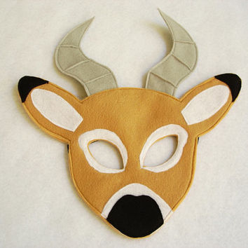 Children's IMPALA Felt Animal Mask
