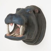 Smiling Hippo Bust - Anthropologie.com