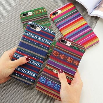 Colorful Woven iPhone Cases