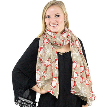 Santa is Coming to Town Scarf