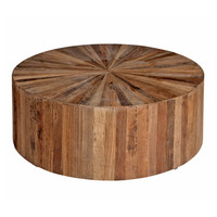 Elm Round Coffee Table