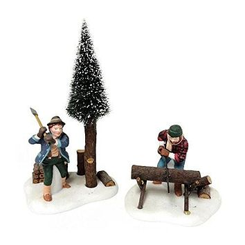 Department 56 Heritage Village Lumberjacks
