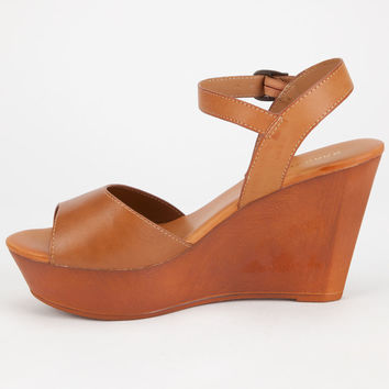 BAMBOO Daffy Womens Wedges | Heels & Wedges