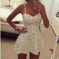 Spaghetti Strap One Piece Dress = 4806556420