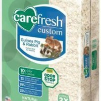 DCCKU7Q Carefresh Custom Rabbit-Guinea Pig Bedding White 50L