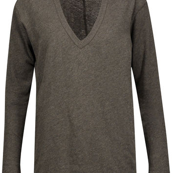 Cotton and cashmere-blend sweater | ENZA COSTA | US | THE OUTNET