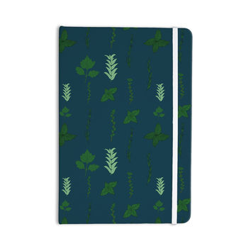 "Stephanie Vaeth ""Herb Garden"" Green Illustration Everything Notebook"