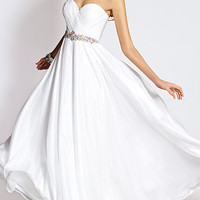 Long Strapless Sweetheart Formal Gown by Alyce