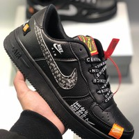 """Nike Air Force 1 Low """"Just Do It"""" Men's and women's cheap nike shoes"""