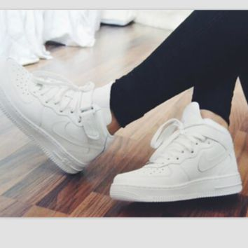 579424af NIKE Women Men Running Sport Casual Shoes Sneakers Heudauo high tops White