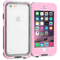 Pink Waterproof Shockproof Full Protection Case Cover for Apple iPhone 6 6S