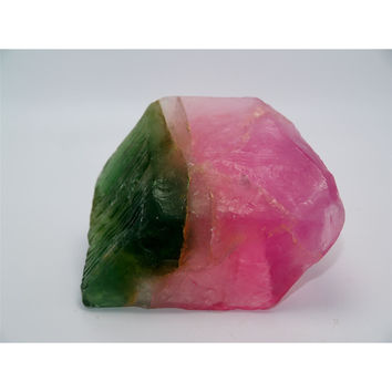 Watermelon Tourmaline Soap Rock