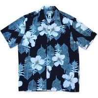 Dream Hibiscus Hawaiian Rayon Shirt