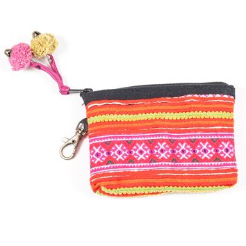 Vintage Hmong Hill Tribe Coin Purse (Thailand) - Style 2