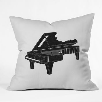 Matt Leyen Music Is The Key 1 Throw Pillow