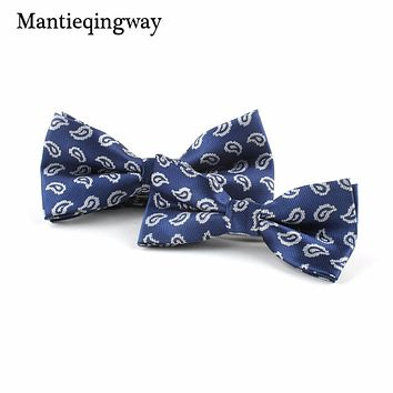 Polyester Adult Children Bow Ties Sets For Men Animals Pattern Bow Tie For Kids Wedding Shirts Bowknot Cravats