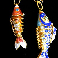 Artifacts of Wanderlust —  Koi  Fish Pendant Necklace