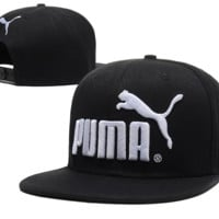 Hot PUMA Embroidered Hip Hop Adjustable Snapback Outdoor Baseball Cap Hats