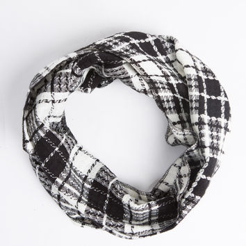 Plaid Thin Scarf
