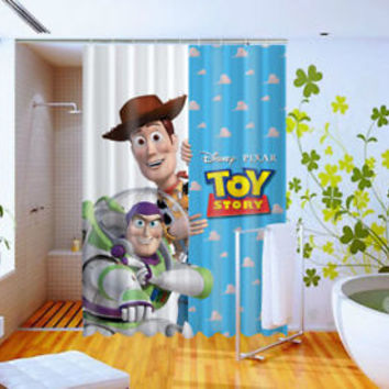 Disney and Pixar's Toy Story Custom Design Shower Curtain 60x72