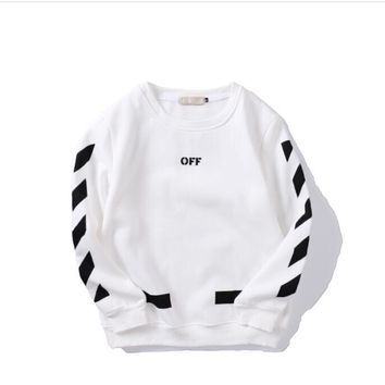ABDCCK OFF-WHITE white sweater